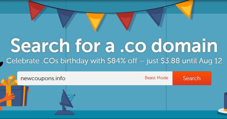 Register .CO For $3.88 At NameCheap - No Coupon Needed