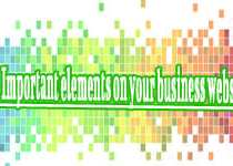 10 elements for you creating a Good Business Website!