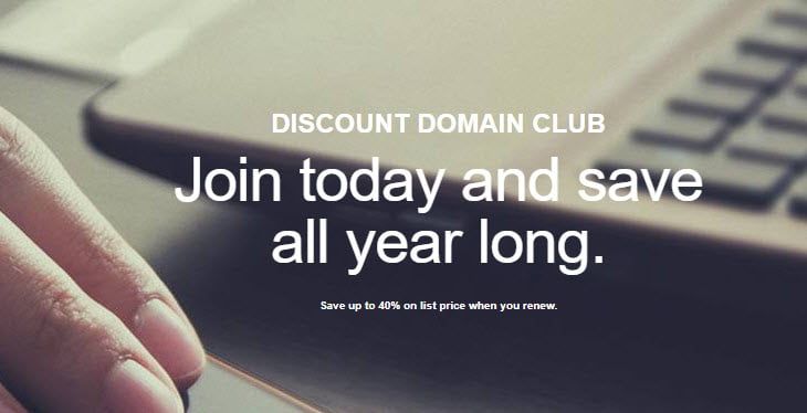 2019' October - 50% Off GoDaddy Discount Domain Club Coupon