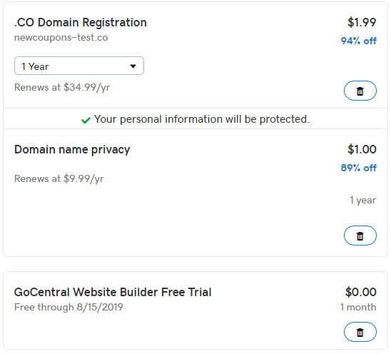 Get .CO Domain For Only $1.99 + $1 Privacy on GoDaddy
