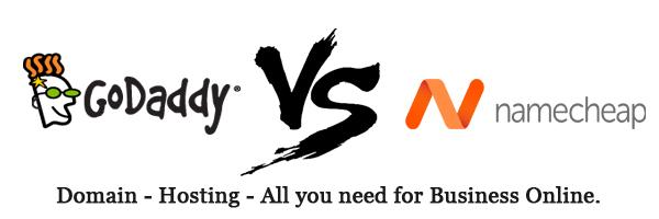 Namecheap vs GoDaddy - Choosing the Best Domain Name Registrar