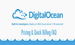 Products and Services Pricing on DigitalOcean
