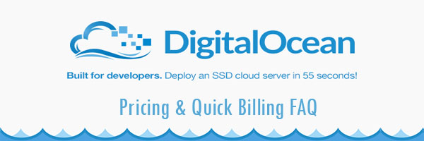 DigitalOcean Vps Pricing & Billing Faq