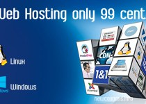 1&1 Web hosting For Only 99 Cent With Free Domain Included