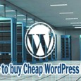 cheap wordpress hosting guide