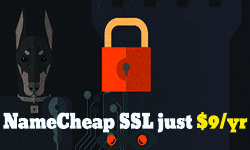 namecheap ssl promotion 9usd