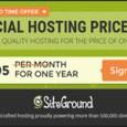 siteground 995 hosting promos
