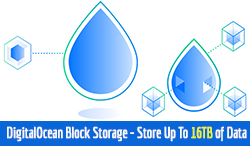 DigitalOcean Block Storage - Store Up To 16tb of Data