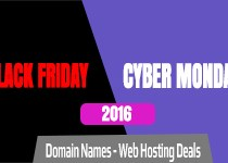 Domain, Hosting Deals – Black Friday & Cyber Monday 2016