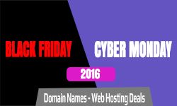 Domain, Hosting Deals - Black Friday & Cyber Monday 2016