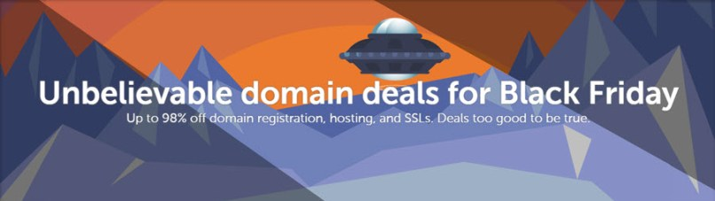 [ENDED] NameCheap Black Friday - Cyber Monday 2016 Deals !