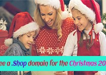 Free a .Shop domain for the Christmas 2016