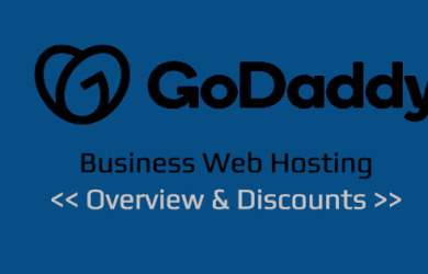 GoDaddy Business Web Hosting Coupon