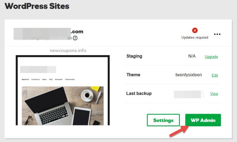 How set up File Manager on GoDaddy Wordpress Hosting ?