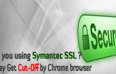 Symantec SSL on chrome