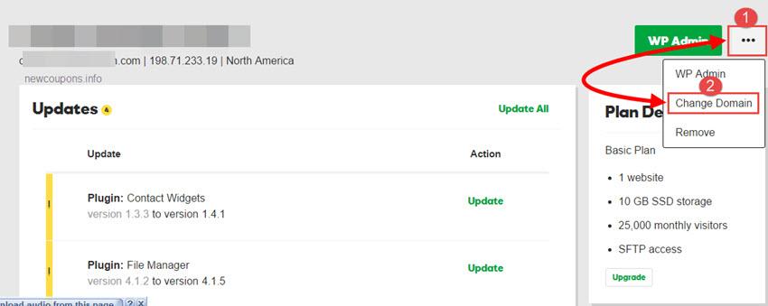 How Change Primary Domain On Godaddy Wordpress Hosting