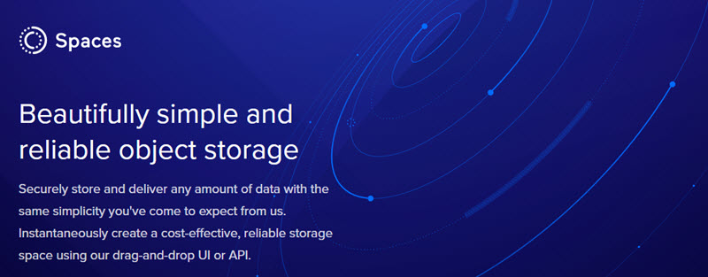 DigitalOcean launches Spaces: A Object Storage Product