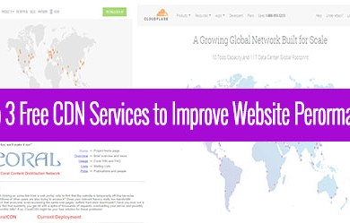 top 3 free cdn services