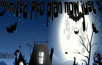stablehost halloween 2017 unlimited pro sale