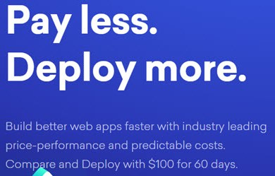 digitalocean $100 free credit for 60 days