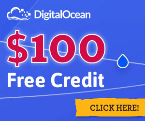 Get $100 DigitalOcean Credit for Free!