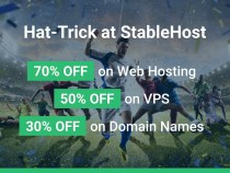 Up to 70% OFF on Web Hosting, VPS and Domains From StableHost