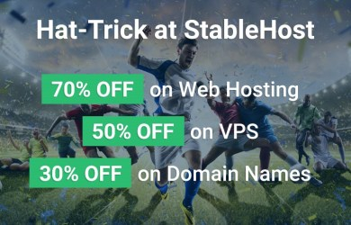 stablehost 70off hosting - 50off vps - 30off domain name