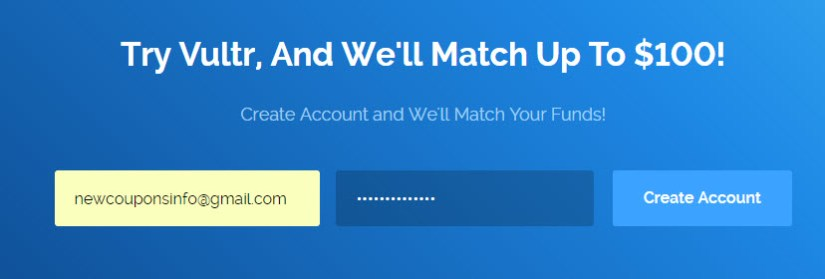 How To Double Your Deposit on Vultr - 2018's Tip
