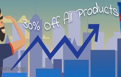 namecheap 30 discount domain hosting