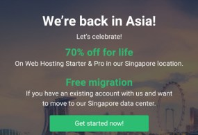 StableHost 70 Off Recurring Hosting in Singapore Location