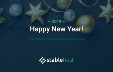 stablehost happy new year 2019