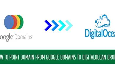 google domains to digitaloce