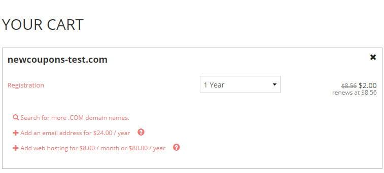 [Updated] $3 .COM Registration at Porkbun - Free WHOIS Privacy