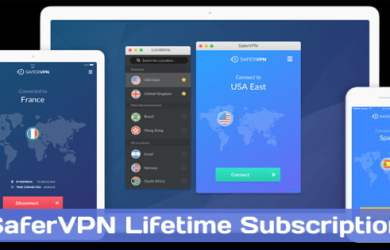 SaferVPN Lifetime Subscription Coupon