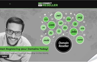 ConnectReseller Domain Registrar