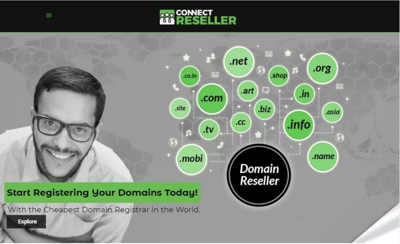 ConnectReseller - Register Up To 50 .COM Domains For $5.79 Each