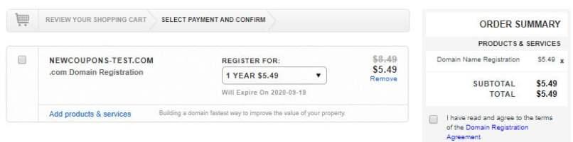 Updated - Register .COM Domains For $5.49 From Epik