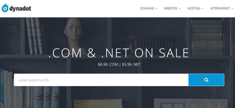 Dynadot - Register .COM For $6.99, .NET For $5.99 - No Limits!