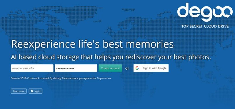 97% OFF Degoo Cloud Lifetime Deals On July 2020