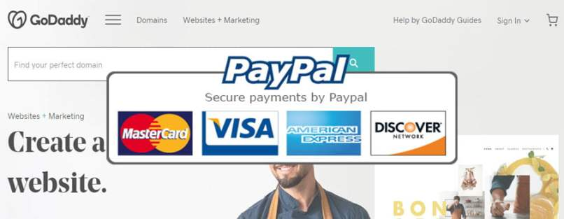 Godaddy Add PayPal As Payment Method