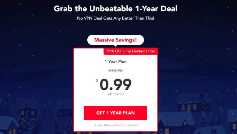 PureVPN 99 Cents Per Month - $11.88/Year - $59.40/5 Years