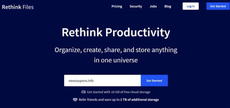 98% OFF Rethink Files Cloud Storage Deals April 2020