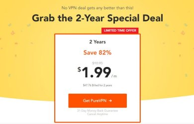 PureVPN 2 Year Plan Offer