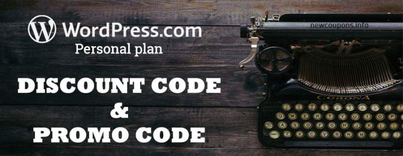 50% OFF! Wordpress Personal Plan Coupon On June 2020