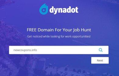 dynadot free domain name