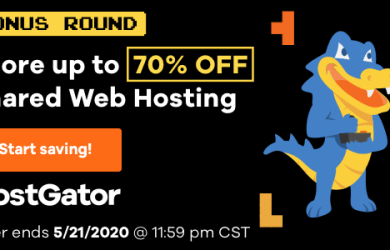 hostgator 70 off free domain