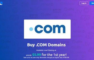 dreamhost $5.99 .com registration offer