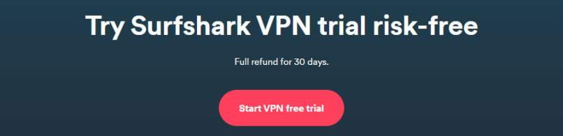 Two Ways To Get SurfShark Free Trial (100% Working)