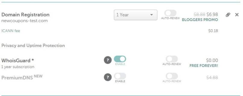 NameCheap - $6.98 .COM Registrations - Free Whois Privacy