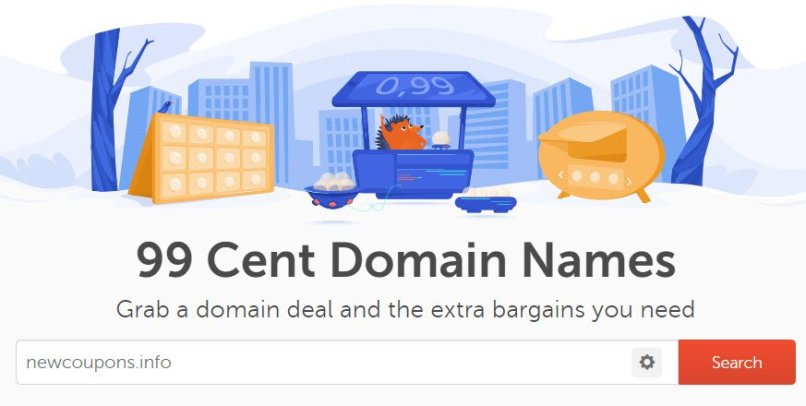 NameCheap 99 Cent Domain Coupon On March 2021